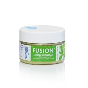 Fusion Matcha Lemongrass Face and Body Scrub (118ml) from beauty haven malta