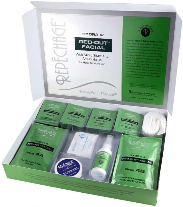 repechage red-out facial beauty haven mosta
